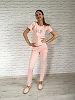Женский спортивный костюм с футболкой Цвета 7724 КК