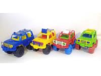 """Детская машинка """"Джип цветной"""" МГ 114 MaxGroup"""