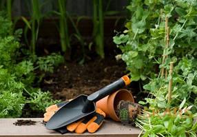 Лопатка садовая