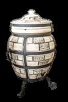 Печь тандыр Эконом 3 (Кирпич узор)