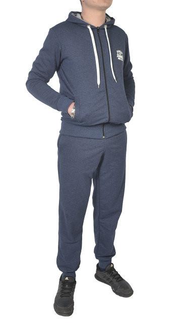 3295361d4ed307 Чоловічий спортивний костюм Adidas, синій штрих - Камала в Хмельницком
