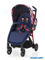 Детская Прогулочная коляска Fly Travel System Proper Poppy - Cosatto (Англия) - матрас, чехол на ноги, корзина