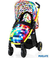 Детская Прогулочная коляска Fly Travel System Pixelate - Cosatto (Англия) - матрас, чехол на ноги, корзина
