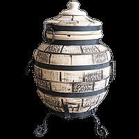 Печь тандыр Эконом 4 (Кирпич узор)