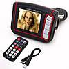 FM МОДУЛЯТОР С ЭКРАНОМ USB, MP3, MP4 + пульт ДУ, работает от прикуривателя,купить, куплю модулятор с монитором