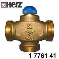 """Трехходовой термостатический клапан HERZ CALIS-TS-RD  1 1/4""""  Австрия"""