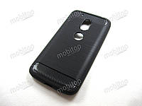 TPU чехол NewLine Motorola Moto G4 Play XT1602 (черный)