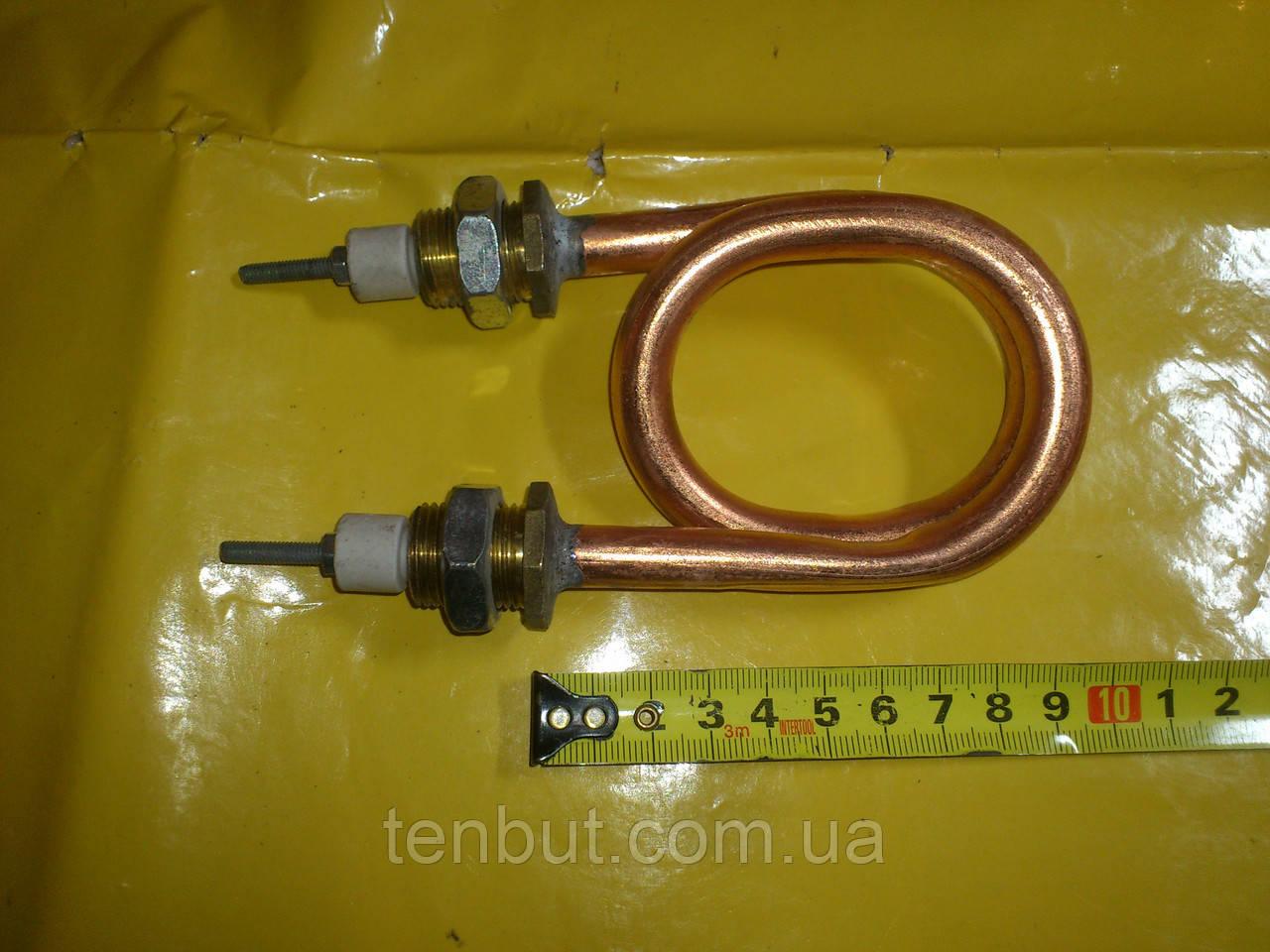 Мідний тен скріпка для дистиллированния води 1.0 кВт. / 220 Ст. різьба м-18 мм. Україна .