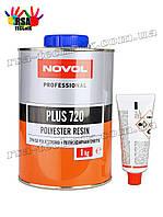 Novol полиэфирная смола PLUS 720 Polyester Resin 1кг