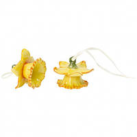 Villeroy & Boch Mini Flower Bells Daffodil yellow, set 2pcs 4cm  декорація