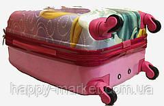 Комплект Чемодан ручная кладь детский+Ранец   дорожный Josepf Ottenn Принцесса 2212-2422-26, фото 3