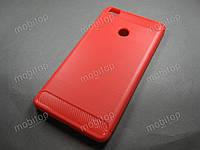 TPU чехол NewLine Xiaomi Mi Max (красный)