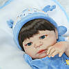 Силіконова лялька реборн дівчинка 55см. (1089)