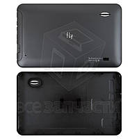 Задняя панель корпуса для планшета Fly Flylife Web 7, черная, original, #42-F203024391