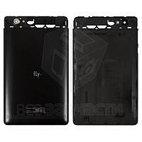 Задняя панель корпуса для планшета Fly Flylife Connect 7 3G 2, черная, original, #811+1731+9+101
