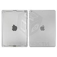 Задняя крышка для планшета Apple iPad Air (iPad 5), серебристая, (версия Wi-Fi)