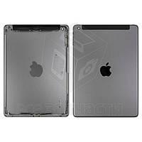 Задняя крышка для планшета Apple iPad Air (iPad 5), черная, (версия 3G)