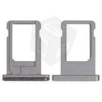 Держатель SIM-карты для планшетов Apple iPad Air (iPad 5), iPad Mini 2 Retina, черный