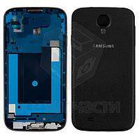 Корпус для мобильного телефона Samsung I9500 Galaxy S4, черный, Black Edition