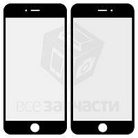 Стекло корпуса для мобильного телефона Apple iPhone 6S Plus, original, черное