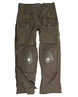 Штаны с наколенниками MilTec Rip Stop, Warrior Olive 10513001