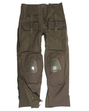 Штаны с наколенниками MilTec Rip Stop, Warrior Olive 10513001, фото 2