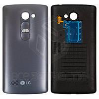 Задняя крышка батареи для мобильного телефона LG H324 Leon Y50, серая