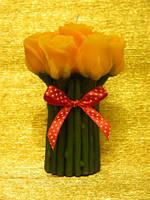 Свеча Букет роз большой