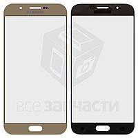Стекло корпуса для мобильного телефона Samsung A800F Dual Galaxy A8, золотистое