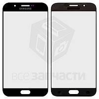 Стекло корпуса для мобильного телефона Samsung A800F Dual Galaxy A8, черное