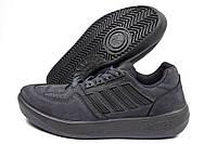 Кроссовки мужские Adidas Московские(Fateh) серые (адидас), фото 1