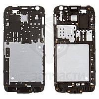 Рамка крепления дисплея для мобильных телефонов Samsung J200F Galaxy J2, J200G Galaxy J2, J200H Galaxy J2, J200Y Galaxy J2, черная