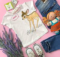 Классная летняя футболка для стильного малыша  ZARA
