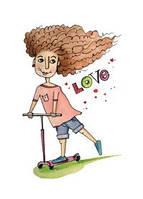 """Почтовая открытка """"Love"""", фото 1"""