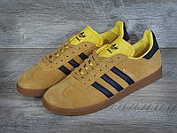 Кроссовки мужские Adidas Gazelle D1085 желтые