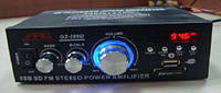 Sony Усилитель для колонок 699Dс FM + MP3 + AUX 12/220 вольт, поддержка USB флешка + пульт, фото 1