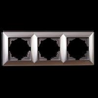 Gunsan Visage Серебро Тройная рамка