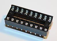 Панельки для микросхем PIN 18 шаг 2,54мм