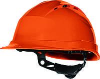 Каска QUARTZ UP IV с вентиляцией, храповик Оранжевый