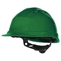 Каска QUARTZ UP IV с вентиляцией, храповик Зелёный