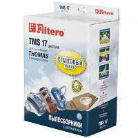 Набор мешков FILTERO TMS 17 EXTRA + держатель для пылесоса THOMAS, фото 1
