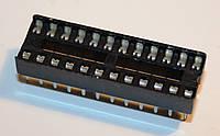 Панельки для микросхем PIN 24 шаг 2,54мм