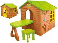 Ігровий будиночок зі столиком для пікніку + стілець, фото 1