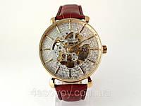 Классические часы Vacheron Constantin Geneve скелетон, механика с автозаводом, цвет корпуса золото