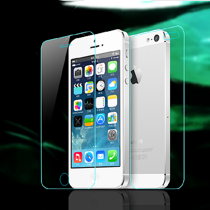 Защитное стекло iPhone 5/5s Back (Mocolo 0.33 mm), фото 2