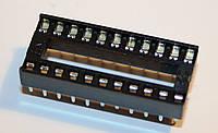 Панельки для микросхем PIN 22 шаг 2,54мм