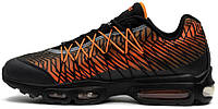 Мужские кроссовки Nike Air Max 95 Ultra Jacquard Black/Orange
