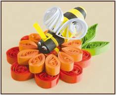 Набор для квиллинга Пчела КВ-030