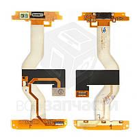 Шлейф для мобильного телефона HTC ADR6325 Merge, межплатный, с динамиком, с компонентами