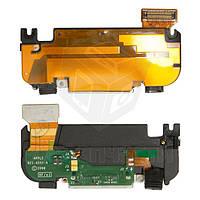 Шлейф для мобильного телефона Apple iPhone 3G, антенны, коннектора зарядки, черный, с компонентами, с звонком, полный комплект